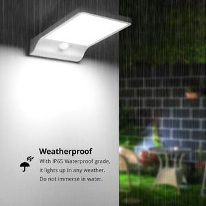 Image 5 - Solar Panel Power 36 LED Solar licht Sensor Wasserdichte Nacht Notfall Wand lampe Für Outdoor Straße Garten Yard Pathway beleuchtung