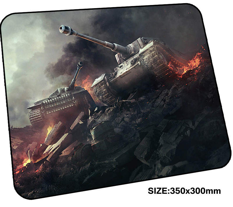 World of Tanks mousepad gamer 350x300x3mm gaming mouse pad Customized notebook pc accessories padmouse present ergonomic mat