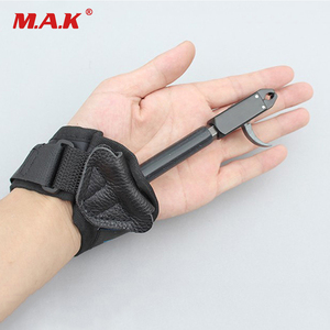 Image 2 - Compound Bow Release of Durable Metal for Strength Saving Hand Protector Archery Accessory