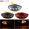 Для DUCATI Monster 659 696 795 796 1100 / S / EVO 1100S Интегрированный Светодиодный фонарь для мотоцикла с поворотным сигналом