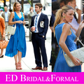 Gossip Girl Blake Lively vestido Neck 6 episódio 2 de alta infidelidade
