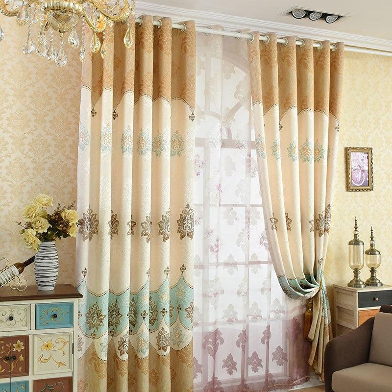elegant modern home decoration exquisite curtain printing
