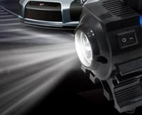 Auto Luchtpomp 12 V Tire auto opblaasbare luchtpomp mini pure koper high power motor + led-koplampen voor Automobiles tyre