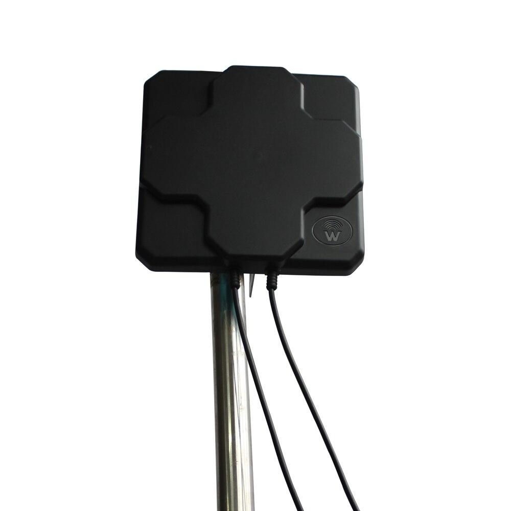 Dlenp Panneau 4g Antenne Extérieure 18dbi À Gain Élevé 698-2690 mhz 4g LTE Antenne Directionnelle MIMO Externe pour Routeur Sans Fil
