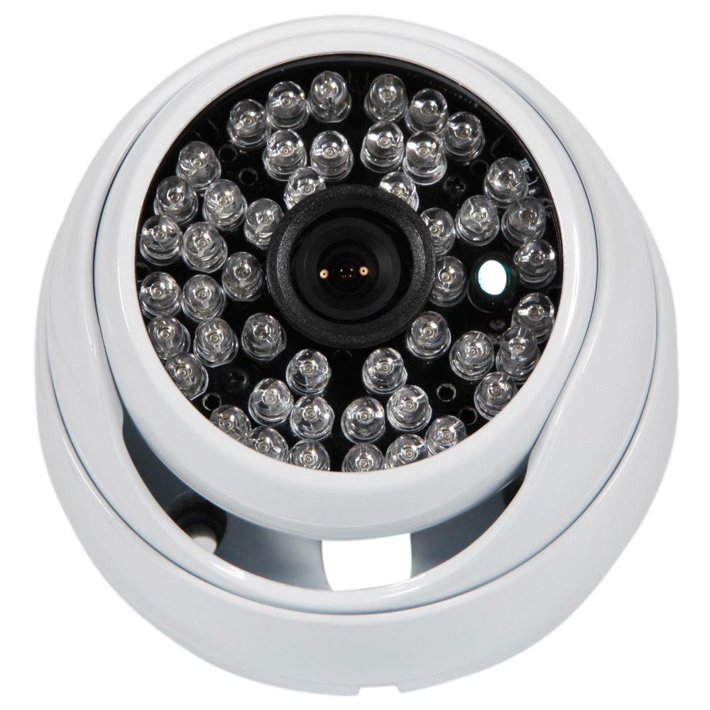 1200TVL CMOS HD 3.6mm Lens Led light Night Version Home Dome Surveillance CCTV Camera IR-Cut Video 12V Power Adapter zea afs011 600tvl hd cctv surveillance camera w 36 ir led white pal