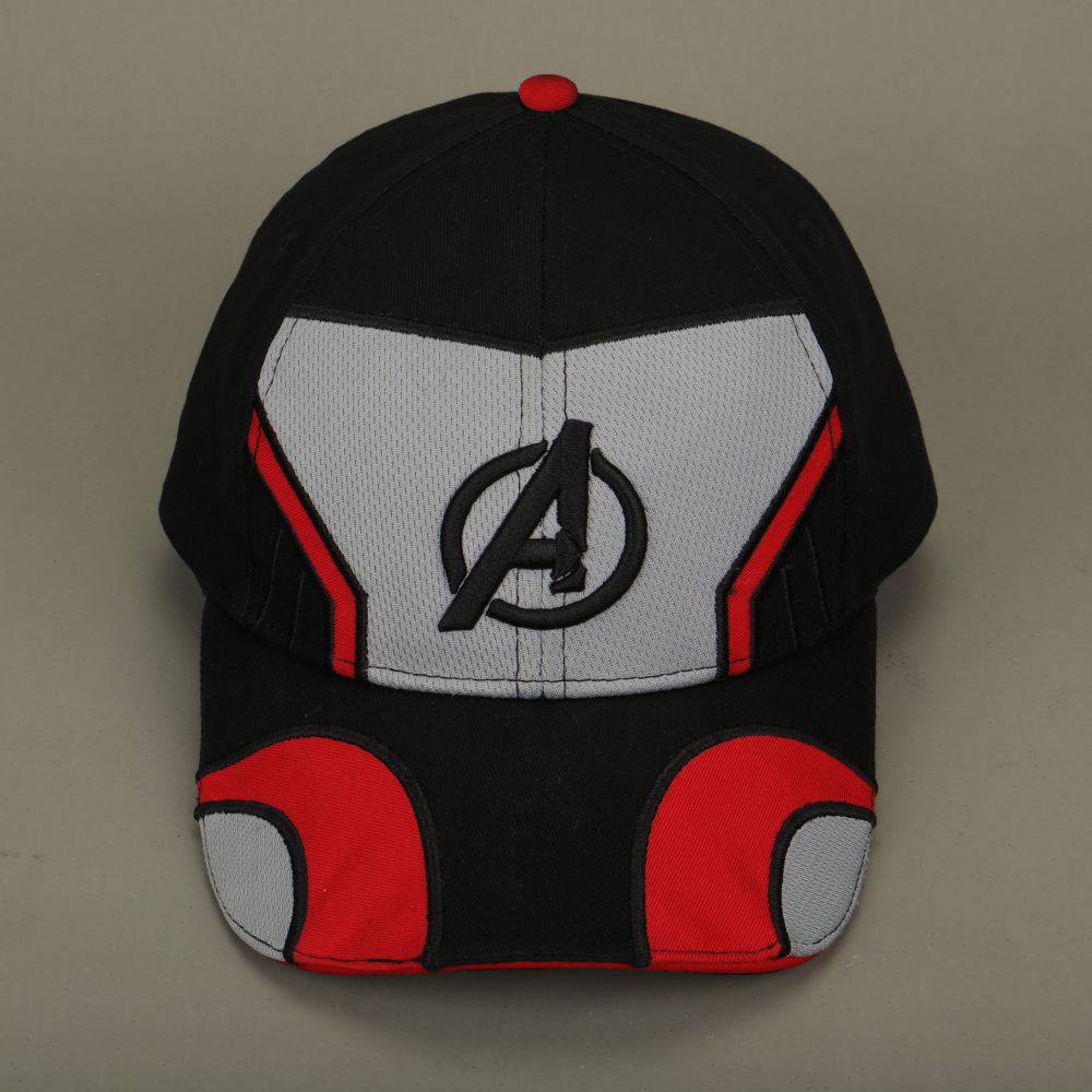 2019 Movie Avengers Endgame Thanos Cosplay Hats Avengers Infinity War Part II Embroidery Unisex Advanced Tech Baseball Cap in Boys Costume Accessories from Novelty Special Use
