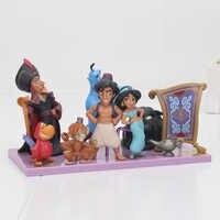 Mermaid Lion King Aladdin princess figure toy Evil Monkey Tiger Aladdin and His Lamp PVC Action Figure Model Toy Dolls 2-10cm