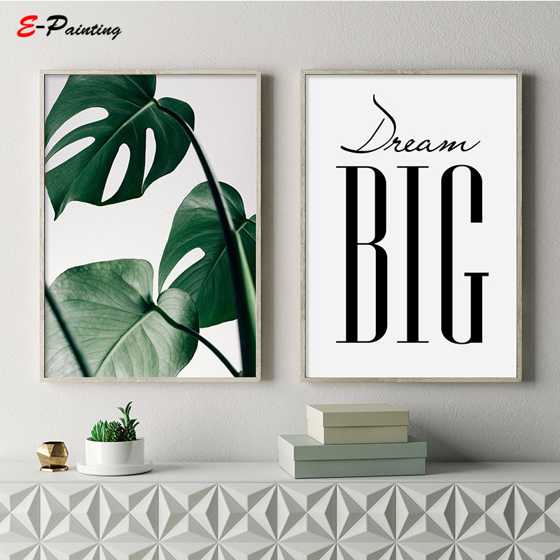Nursery Ideas And Décor To Inspire You: Aliexpress.com : Buy Dream Big Printable Scandinavian Wall