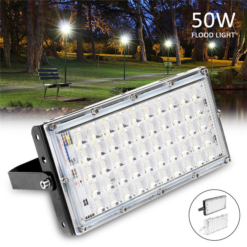 Lights & Lighting De.soul Motion Sensor Led Flood Light 10w 30w Waterproof Ip65 Reflector Floodlight Lamp Exterior Spots Outdoor Light