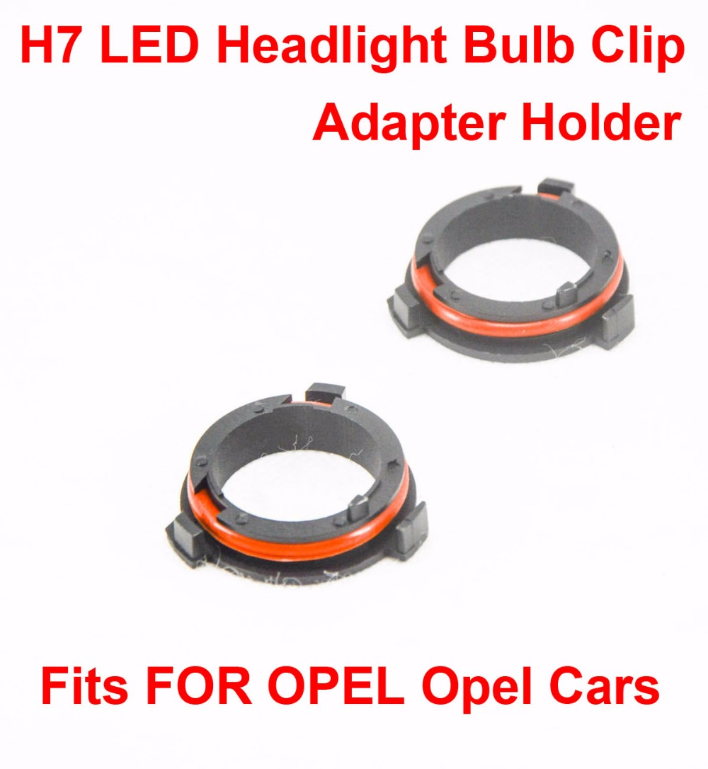 Worldwide delivery h7 led adapter opel in Adapter Of NaBaRa