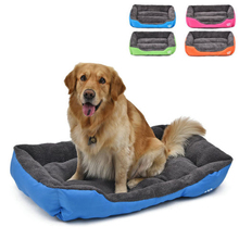 Pet Dog Bed Warming Dog House Soft Material Pet Nest
