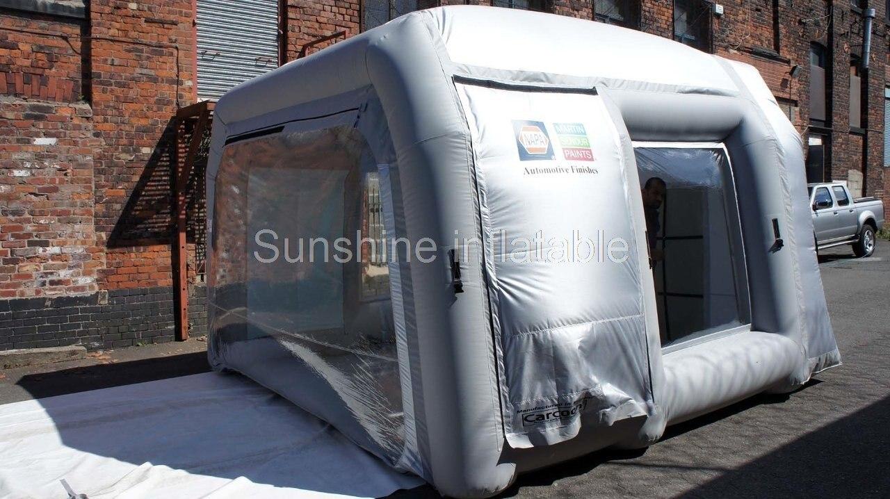 Neue design hohe qualität 4 mt mobile splitter grau aufblasbare - Outdoor-Spaß und Sport - Foto 2
