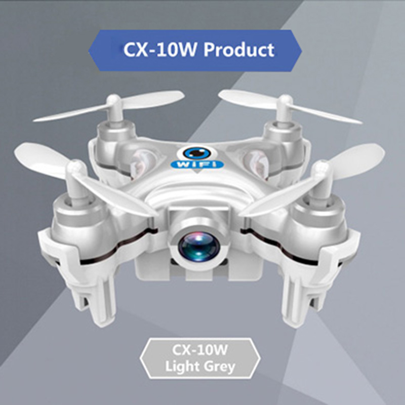 Mini RC Helicopter Cheerson CX-10W Upslon Cheerson CX-10WD RC Quadrocopter With Camera Mini Drones Remote Control FPV WIFI Drone cheerson cricket cx 17 mini wifi fpv rc quadcopter rtf black