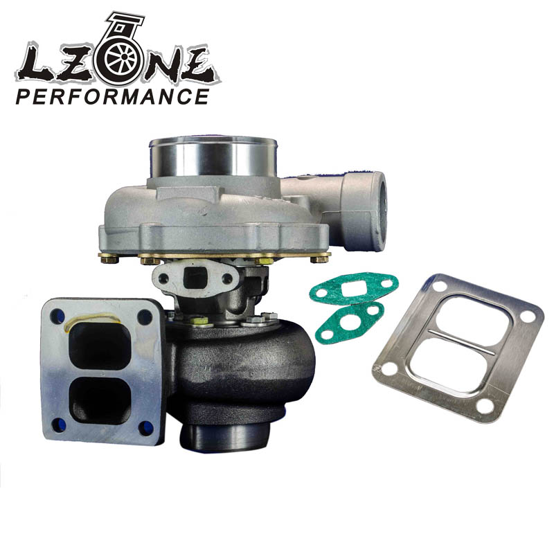 LZONE RACING - HIGH QUALITY TURBO GT45R Turbo charger .70 cold,1.0 hot external w/g t4 flange TURBOCHARGER JR-TURBO34