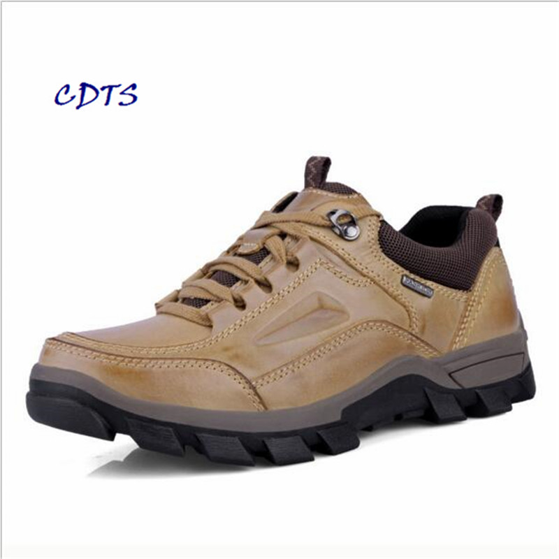Mountain-Shoes Comfortable Genuine-Leather Outdoor Cotton LLXF Zapatos Add Men Size-38-50