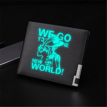 My Wallet Luminous Leather Wallet Purse Money Bag One Piece merch