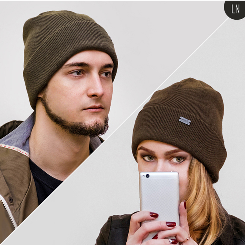 cd6b51d9 FURTALK Winter Hats for Women Men Knitted Beanie Hat Cap for Girls Wool  Brand Hat Female and Male Skullies Couples Stocking Hats-in Men's Skullies  & Beanies ...