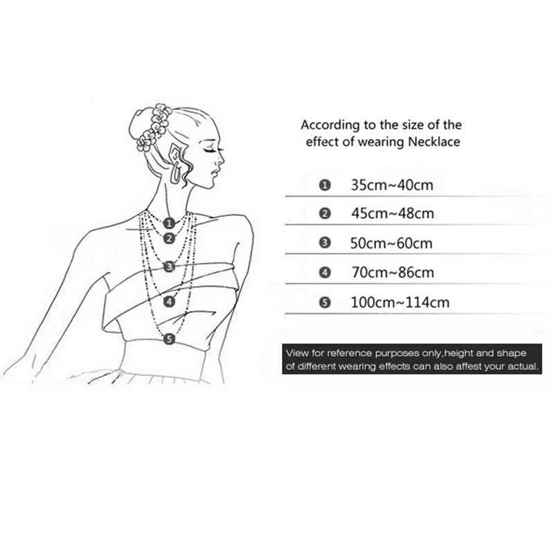 16 ''18'' 20 ''22'' 24 ''1mm srebrny 316 kabel ze stali nierdzewnej łańcuszek wisiorek naszyjnik dla kobiet mężczyzn biżuteria prezent