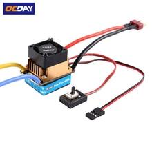 1pcs OCDAY 2 3 Lipo 6 9NiMH 60A Dual Mode Brush Speed Controller ESC Regulator With