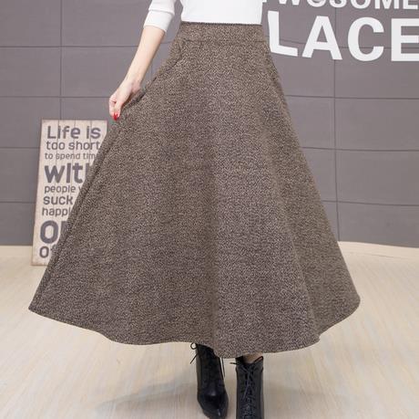 Теплые длинные юбки недорого