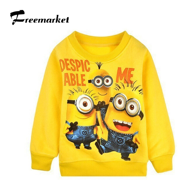 6883a943 NEW kids clothes long sleeve polo shirts boys despicable me minions clothes  minions t shirt boys clothes children T- shirts