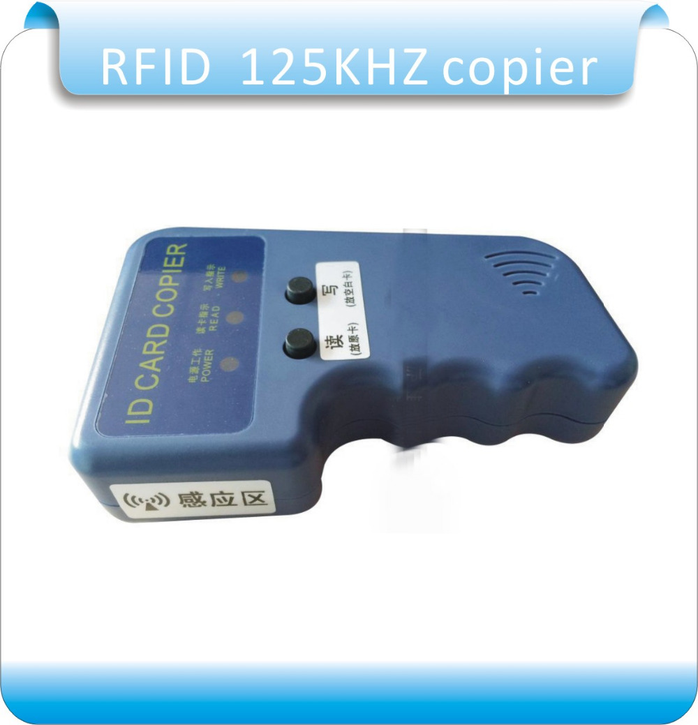 t5577 Tag Original English Ver Handheld 125khz-13.56mhz More Frequecny Access Rfid Card Duplicator/copier uid Changeable Rewritable Key Quality First