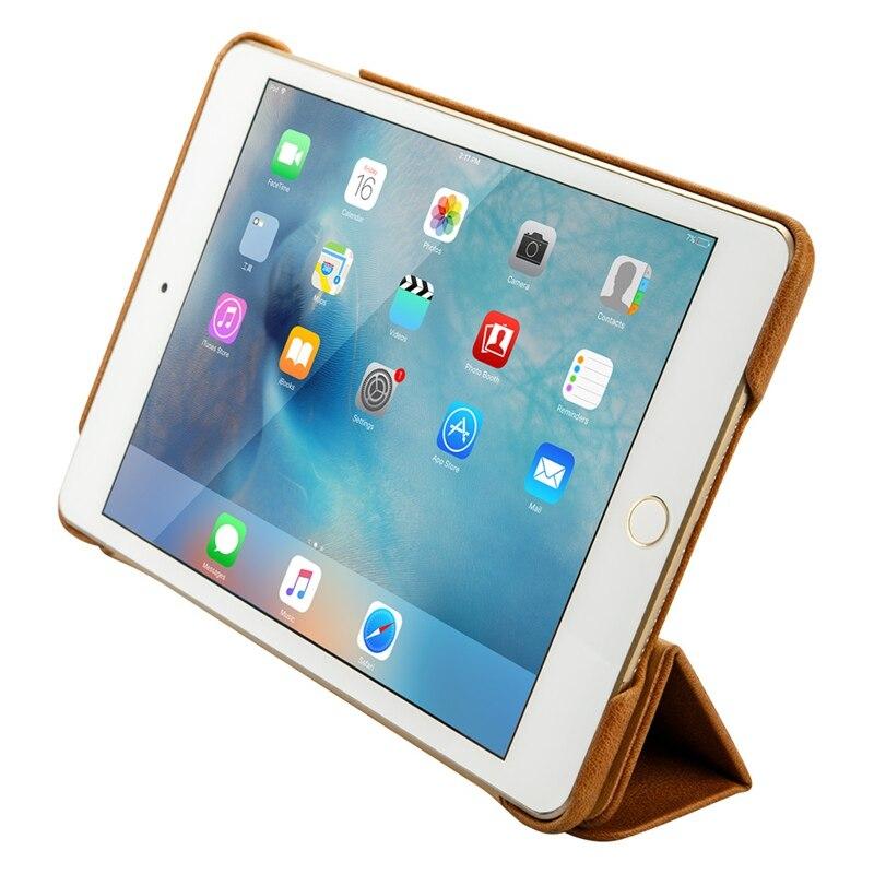 Jisoncase Luxury Ehtne nahast kaitseümbris iPad mini 2 3 jaoks Thin - Tahvelarvutite tarvikud - Foto 4