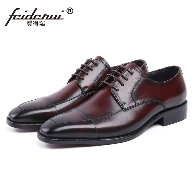 Vintage Formal Man Dress Party Shoes Genuine Leather Handmade Oxfords Luxury British Designer Mens Bridal Wedding Footwear JS41Vintage Formal Man Dress Party Shoes Genuine Leather Handmade Oxfords Luxury British Designer Mens Bridal Wedding Footwear JS41