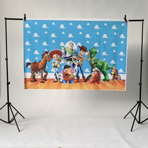 Image 3 - Photography backdrops Cartoon toy story candy Children Birthday party Studio Background Customize backgrounds for photo studio