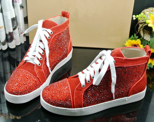 promo code 5ceeb fe999 red bottom sneaker for women