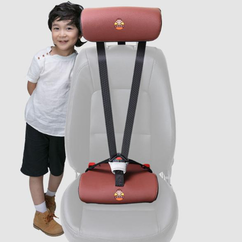 Simple Invisible Car Safety Booster Seats Portable Non-occupied Space 1-3 years old,15-36KG, Easy Portable Car Seat