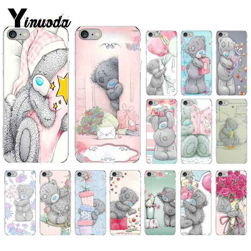 Yinuoda Tatty Teddybeer Me Om U TPU Soft Phone Case Cover voor iPhone 8 7 6 6S Plus X XS MAX 5 5S SE XR 10 Cover