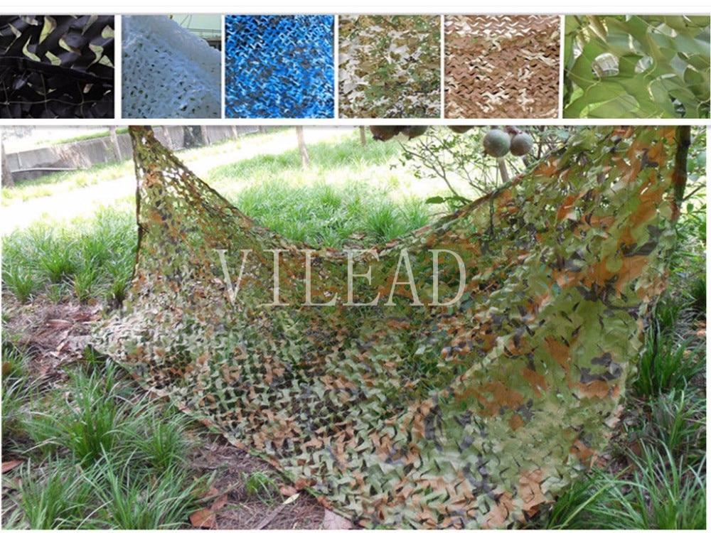 VILEAD 3M*7M 9 Colors Camouflage Netting Camo Net For Shop Decor Bar Decoration Outdoor Activity Shetler Shade Window Shade цена 2017