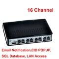 16 ch ftp monitor remoto voz ativada usb gravador de telefone uso da empresa monitor de telefone, registador de telefone usb 16ch ok w 10os