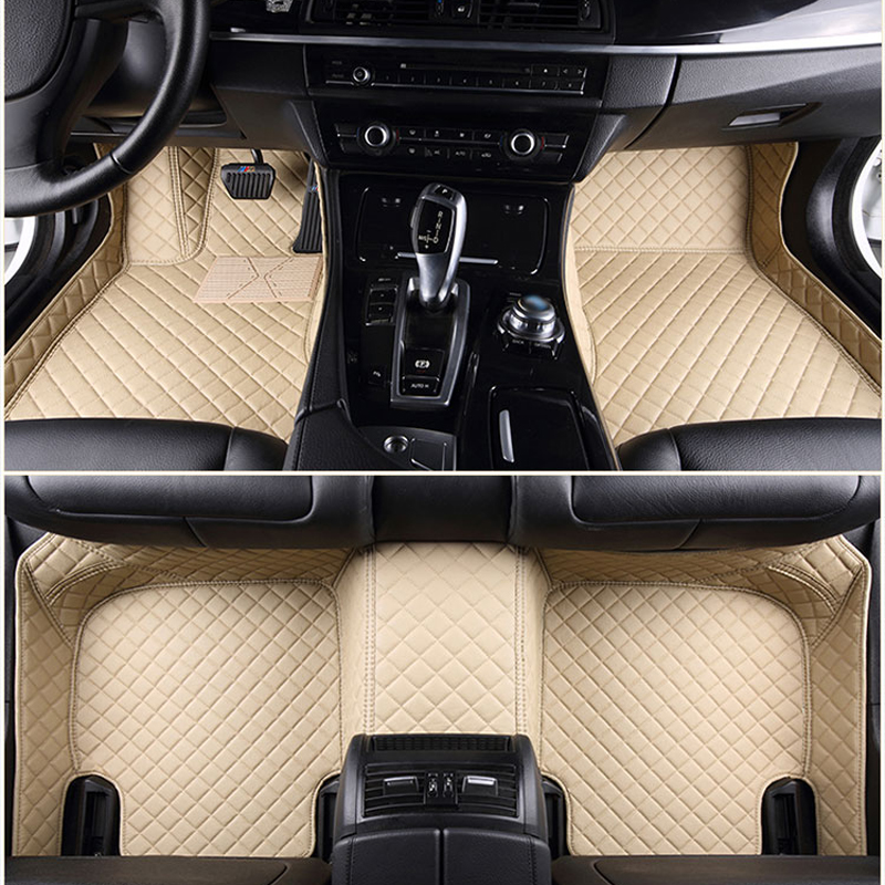 Custom fit car floor mats for Nissan 2007 Rouge X-trail T31 T32 Murano 3D all weather car-styling carpet rugs floorliners custom fit car floor mats for mitsubishi lancer asx pajero sport v93 3d car styling all weather carpet floor liner ry204