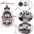 O Envio gratuito de Alta Qualidade 34 36 38 40mm Carburador Keihin PWK Carburador Da Motocicleta Motocross Universal Usado ATV UTV