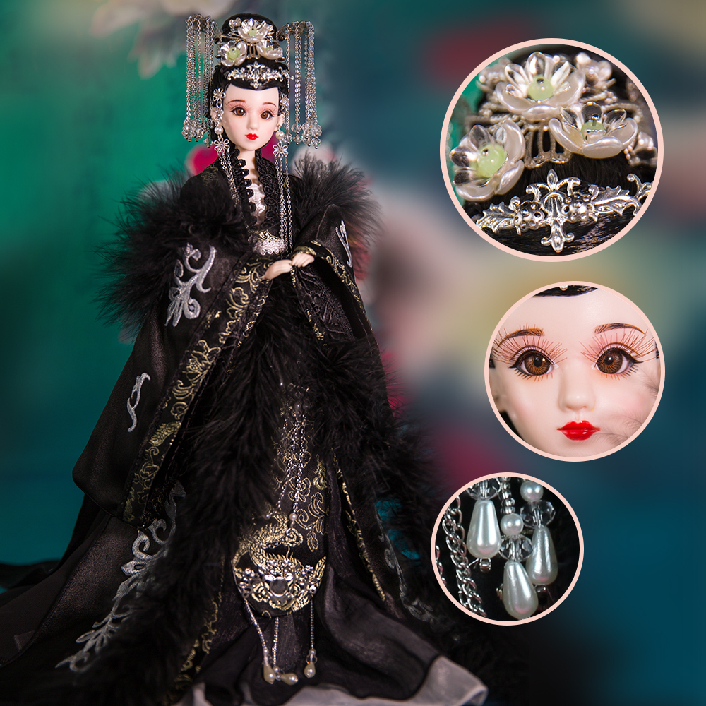 Genuine East Charm costume doll 1/6 Like BJD Blyth Dolls Hyun Lin latest set collection gift high quality 14 joint body toys