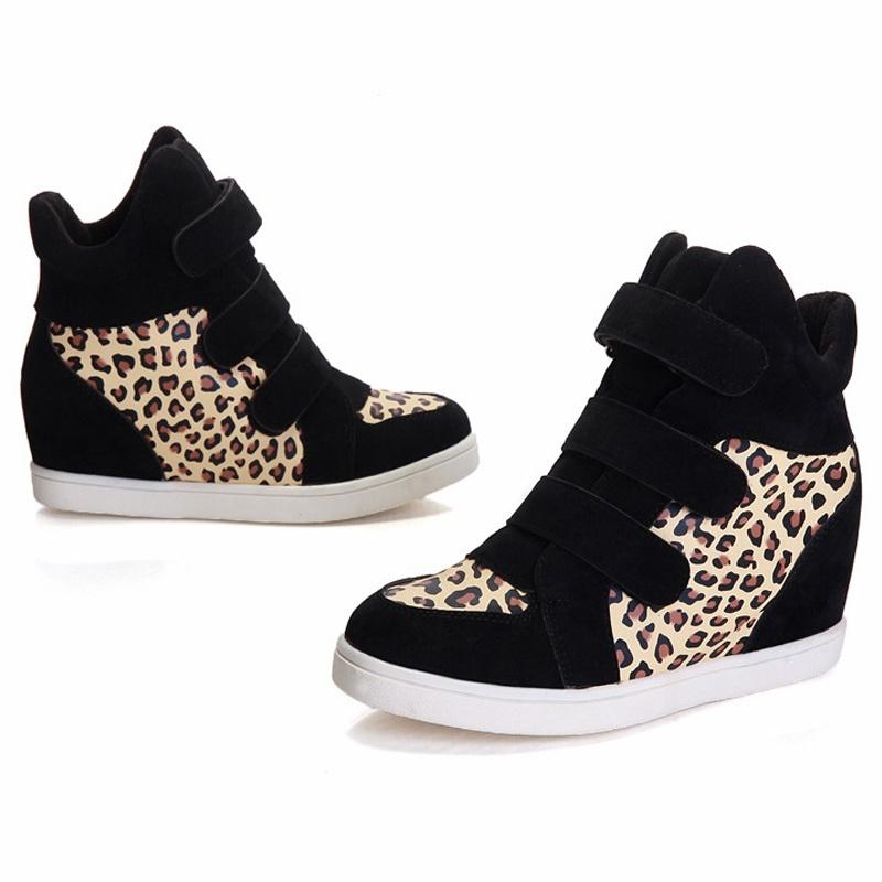 Hot Fashion New Women flat shoes casual shoes High increased sneakers shoes