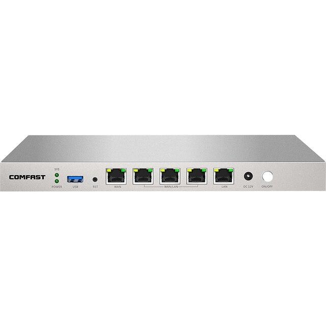 880MHz Dual Core AC Controller Full Gigabit Gateway Routing Multi-WAN 5*1000Mbps RJ45 Port Access Load Balance Qos PPPOE Server 4