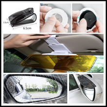 Автомобильный Солнечный свет очки с зеркальными линзами с защитой от дождя клип пленка для Fiat 595 500 500 S Toro защитник Aegea 500X Argo 500L 124