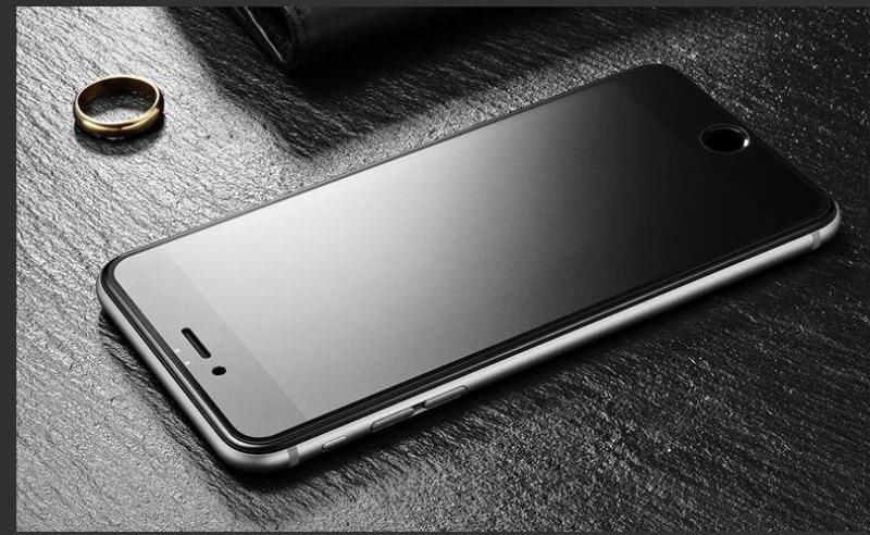 9H 2.5D matowy matowy pełna pokrywa szkło hartowane Screen Protector dla iPhone X XS MAX XR 10 8 7 6s 6 Plus 7Plus anty odciski palców 6