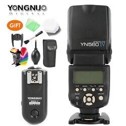 YONGNUO YN-560 IV Master Radio Flash Speedlite + RF-603 II Wireless Trigger for Nikon D800 D7100 D610 Canon 5DIV 650D Camera