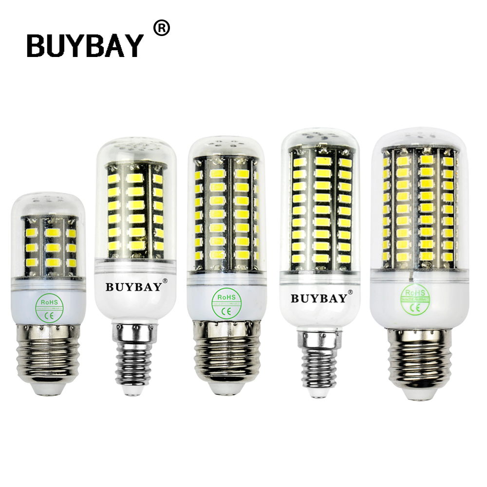more brighter smd5736 led corn bulb e27 e14 led lamp 3w 4w 5w 7w 10w light bulb ac90 260v candle. Black Bedroom Furniture Sets. Home Design Ideas