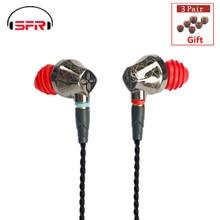 SENFER DT6 1BA + 1DD Гибридный в ухо наушники HIFI DJ работает спортивный ушной наушники с микрофоном съемный кабель MMCX ZSN AS10 DT8 T2