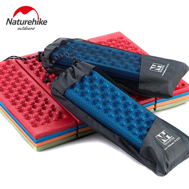 Naturehike Isomatte Sitz Schaum Aufblasbare Matten Falten Portable Außen Strand Feuchtigkeits Matratze Pad Ei Slot Yoga