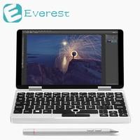 Один Нетбуки игры 7 дюймов Алюминий корпус ноутбука Windows 10 Intel Cherry Trail x5 Z8350 игры таблетки 8 ГБ/ 128 ГБ ноутбук