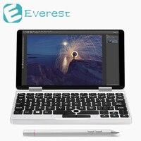Один Нетбуки игры 7 дюймов алюминиевый корпус ноутбука Windows 10 Intel Cherry Trail x5 z8350 игры таблетки 8 ГБ/128 ГБ ноутбук