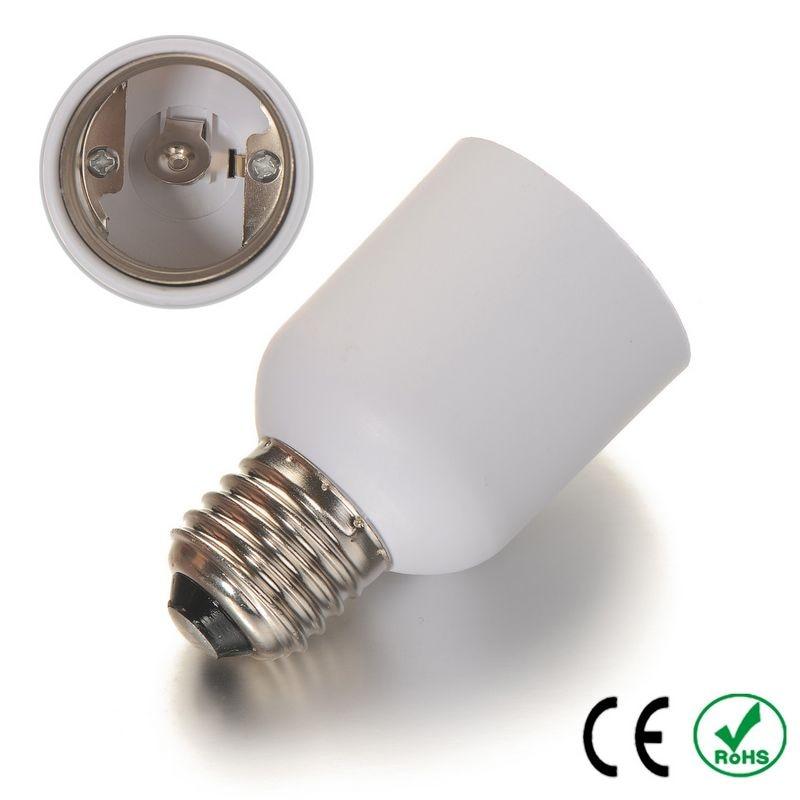 100pcs E27 To E40 Adapter Lamp Holder Converter Lamp Base Socket Fireproof PBT Copper LED Light Bulb Holder Extender Plug