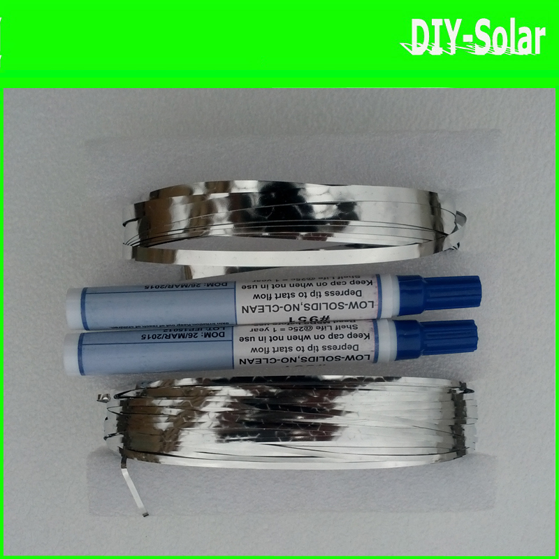 Solar Cell To Solar Cell Interconnect Soldering Wire Tab