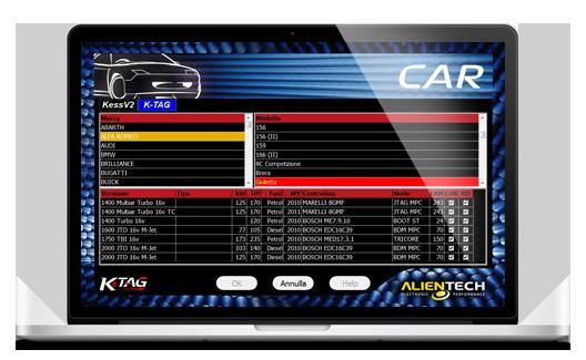 KESS <font><b>V2</b></font> Firmware 4.036 + K-TAG Firmware 6.070